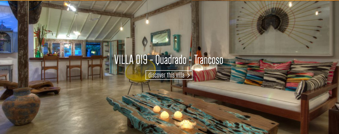 Rent exclusive villas in Trancoso Bahia Brazil